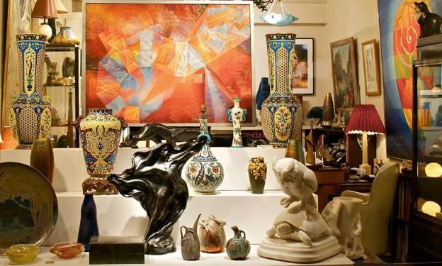 paris, galerie d'art, village saint paul, art formel, art nouveau, gallery